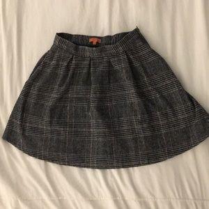 Fantastic plaid mod cloth skirt